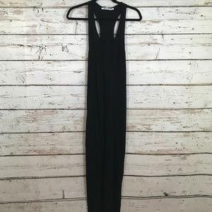 Alexander Wang long black tank dress